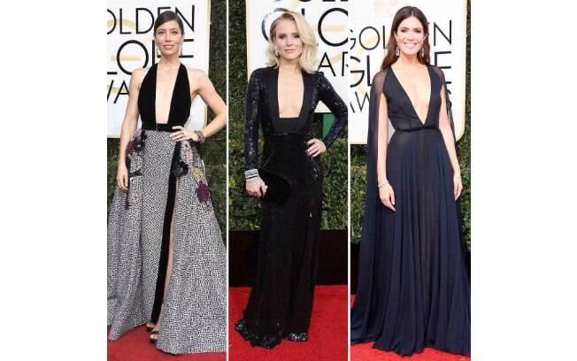 Globo de Ouro 2017: vestidos pretos