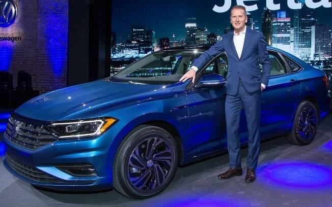 VW Jetta: nova geração do sedã fica mais sofisticada e eficiente com a nova plataforma MQB, a mesma do Golf