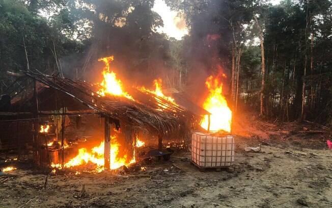 Garimpeiros foram presos em unidades de conservação do Amazonas