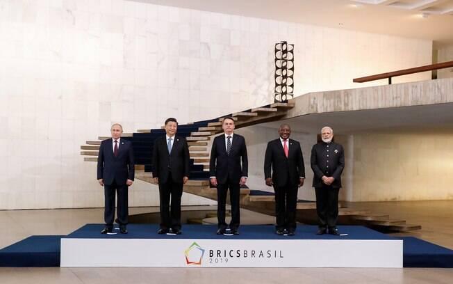 Representantes dos Brics se reuniram no Palácio do Itamaraty, em Brasília