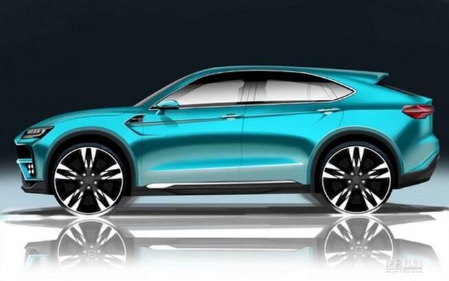 Apesar da dianteira que lembra o Urus, a traseira está mais para BMW X6, com ares de cupê