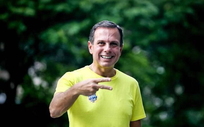 Favorito em disputa, João Doria Jr. aguarda apuração das prévias do partido na Câmara Municipal de SP