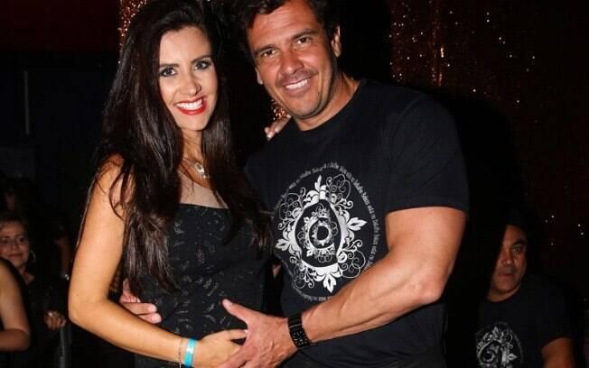 Patrícia Salvador está grávida do segundo filho com Lásaro