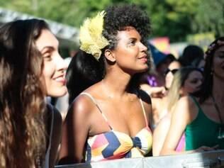 Cidades - Carnaval - Belo Horizonte - MG Folioes pulam carnaval no Parque Mangabeiras em Belo Horizonte  FOTO: ALEX DOUGLAS / O TEMPO -  01.02.2015