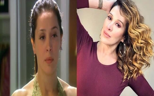 Esquerda: Claudia Raia como Donatela em