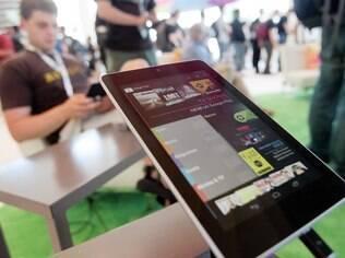 Mercado de tablets no Brasil deve alcançar mais de 5 milhões de unidades em 2013