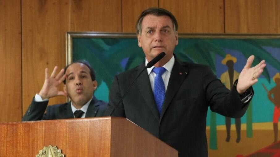 Presidente Jair Bolsonaro não mediu as palavras para criticar o governador João Doria (PSDB-SP)