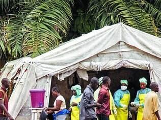 Muitos casos. Serra Leoa está entre os países mais atingidos pela atual epidemia de ebola