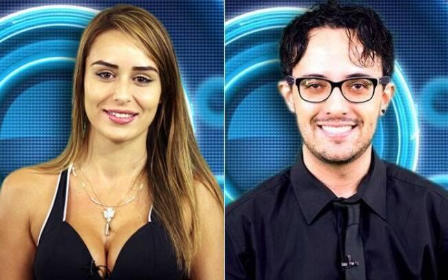 Letícia Santiago e Alisson Gomes: primos