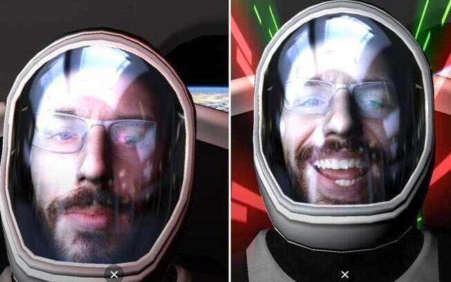 Filtro da SpaceX circula no Instagram