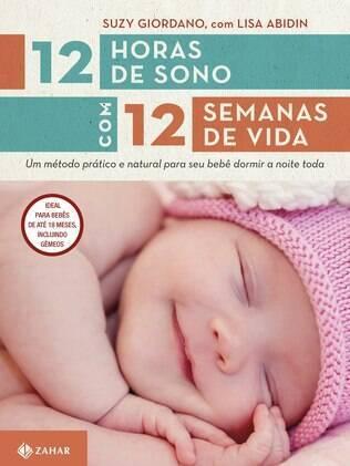 Livro ensina como fazer para que filhos durmam a noite toda