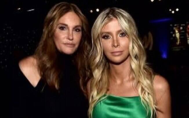 Caitlyn Jenner e Sophia Hutchins