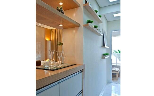 decoracao cozinha nichos: para decorar a parede e trazer verde à cozinha. Foto: Divulgação