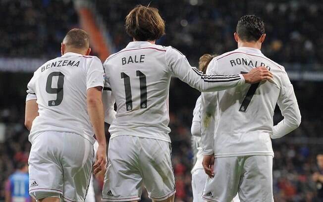 Benzema e Ronaldo no Real Madrid