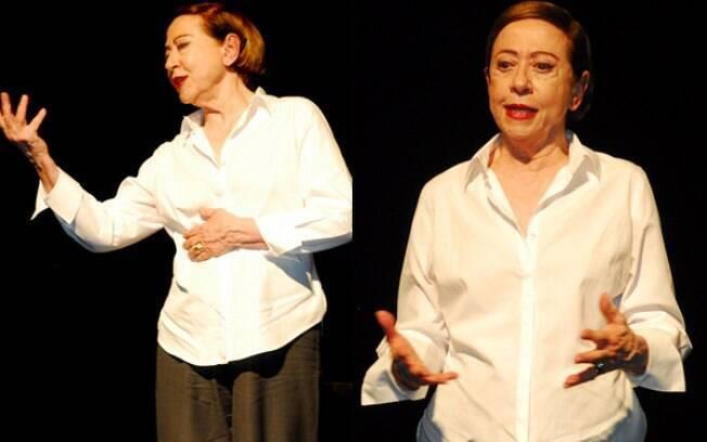 Fernanda Montenegro se apresenta em São Paulo