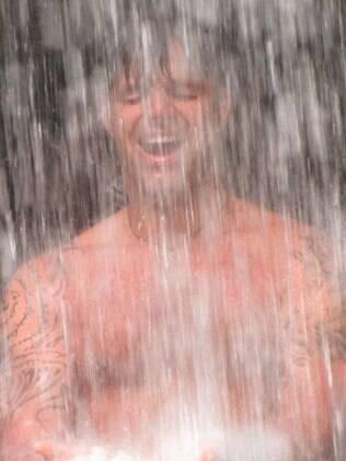 Ricky Martin comemora o primeiro dia do ano em Porto Rico