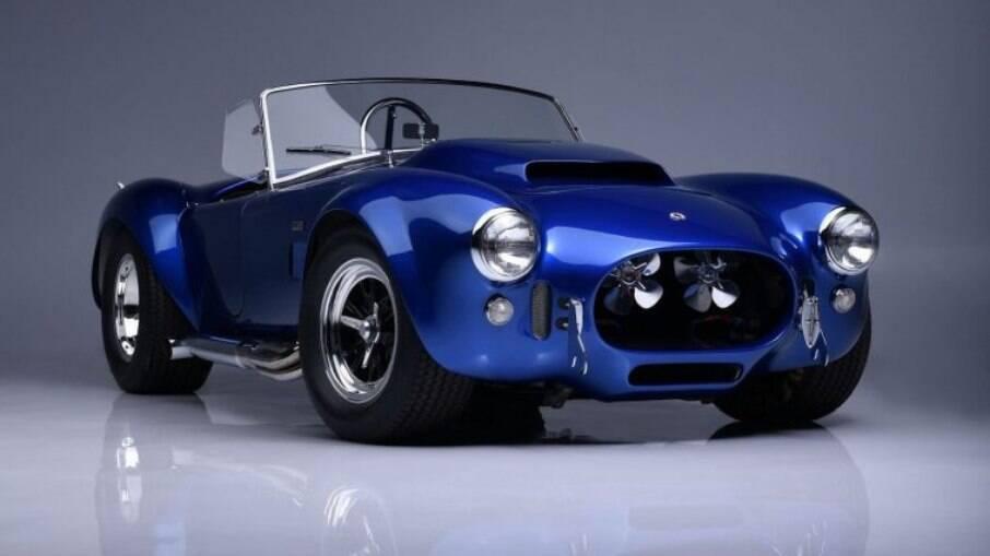 Shelby Cobra Super Snake:  raridade vem com um poderoso V8 sobrealimentado que funciona com câmbio automático