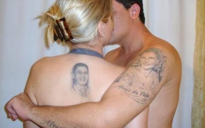 Tom veiga tem cinco tatuagens em homenagem a mulher