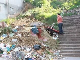 Antes.  Lugar era considerado um bota-fora de lixo