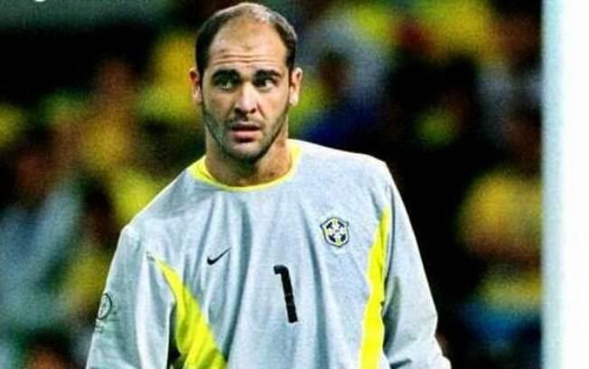 Marcos foi o goleiro titular da seleção brasileira na Copa do Mundo de 2002