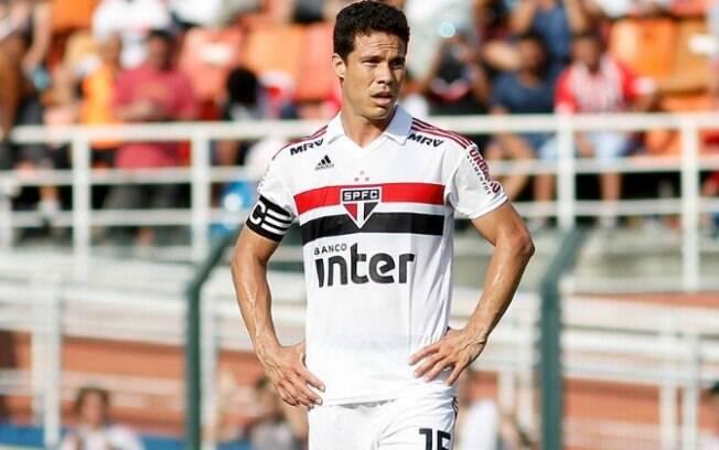 Hernanes voltou ao São Paulo na rodada do Paulista e marcou o único gol da partida