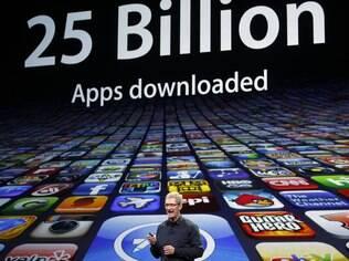 App Store, loja de aplicativos da Apple, completou 25 bilhões de downloads na última semana