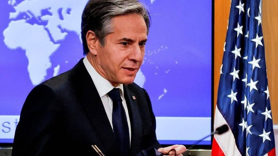 Secretário de Estado norte-americano, Antony Blinken