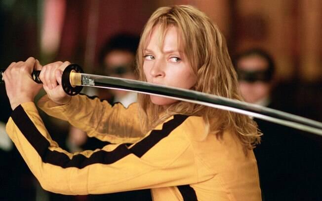 Beatrix Kiddo é a principal personagem da série de filmes