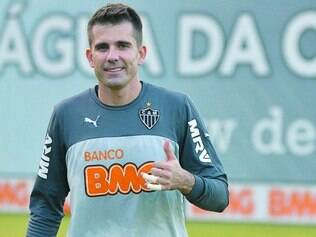 Reforço. O goleiro Victor treinou entre os titulares na antevéspera da partida contra os argentinos
