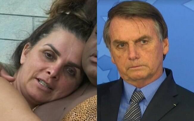 Luiza Ambiel e Bolsonaro