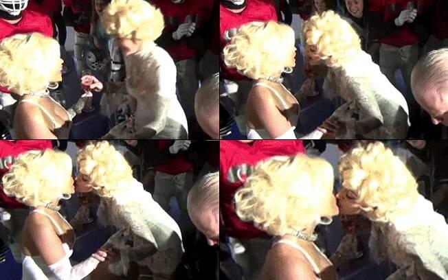 Cai na rede selinho entre Madonna e Nicki Minaj
