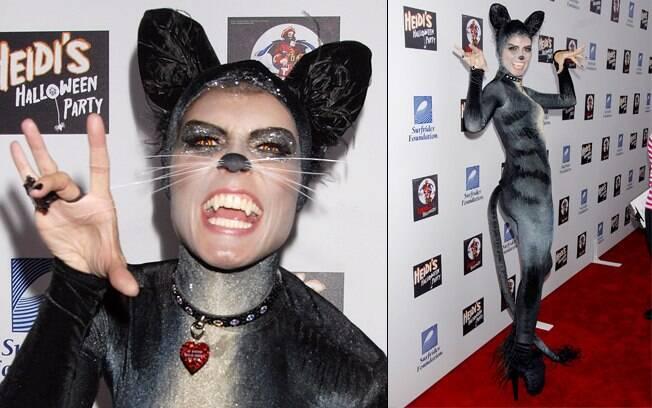 Heidi Klum de gatinha em 2007