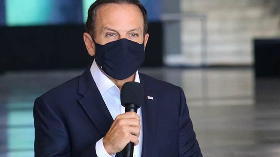 Governador João Doria (PSDB)