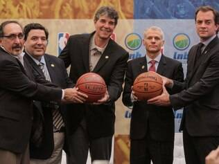 Acordo entre LNB e NBA foi anunciado nesta quinta e contou com representantes das duas entidades