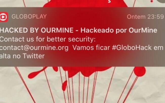 Globoplay é hackeado