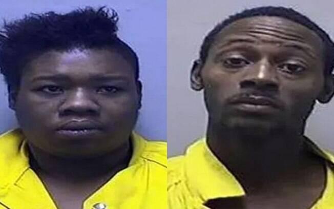 Erika Finley  e Khairy Simon foram acusados de chicotear e espancar filha de três anos por ela não saber usar o penico