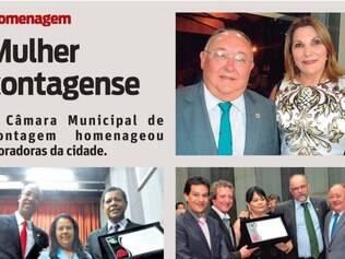 A Câmara Municipal de Contagem homenageou moradoras da cidade.