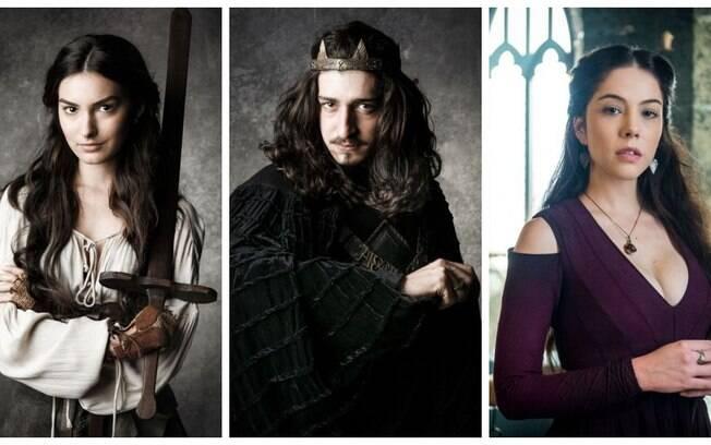 Marina Moschen (Selena), Johnny Massaro (Rodolfo) e Bia Arantes (Brice) surpreenderam com suas atuações