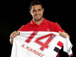 Kardec vai usar a camisa 14 no Tricolor, a mesma que foi de Aloísio