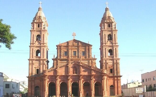 Catedral Angelipolitana, na cidade de Santo Angelo (RS)