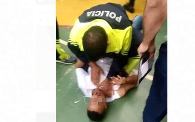 PM usou da força para separar briga de estudantes em Ceilândia