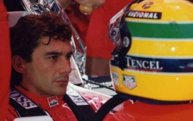 Ayrton Senna morreu no dia 1º de maio de 1994 após sofrer acidente no GP italiano de Ímola