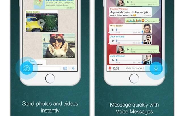 Versão 2.12.1 do WhatsApp para iOS libera o recurso de chamadas telefônicas para usuários de smartphones Apple