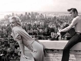 Marilyn e Elvis, que teriam inclusive tido um caso, atuam juntos no novo jogo