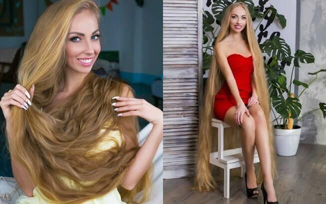 Alena afirma que já recebeu até mesmo pedidos de casamento por causa de suas longas madeixas