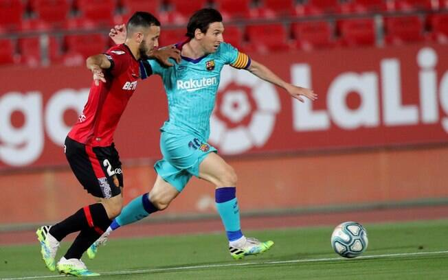 Barcelona venceu o Mallorca fora de casa