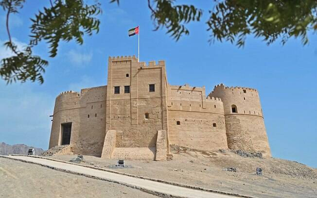 Khor Fakkan, encerra os destinos do cruzeiro nos Emirados Árabes Unidos