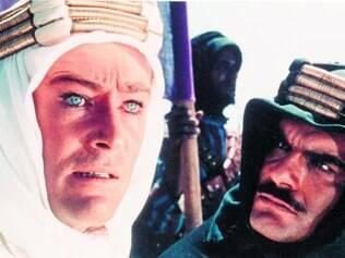 Peter O'Toole foi indicado ao Oscar por seu primeiro grande papel no cinema