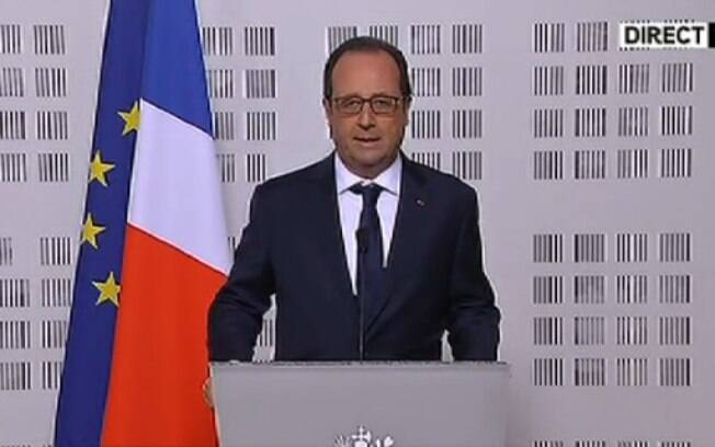O presidente da França François Hollande disse em pronunciamento à nação que não deve haver sobreviventes no avião