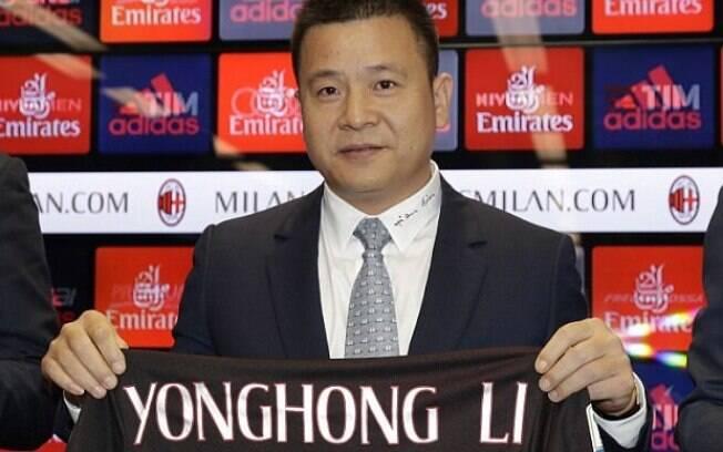 Li Yonghong era o dono do Milan